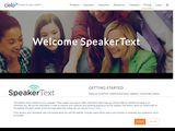 SpeakerText