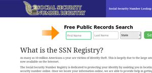 Social Security Numbers Online
