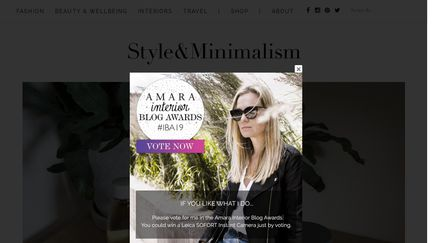 Style & Minimalism