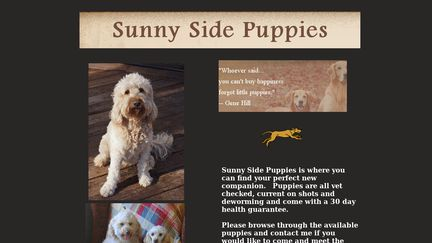 Sunny Side Puppies