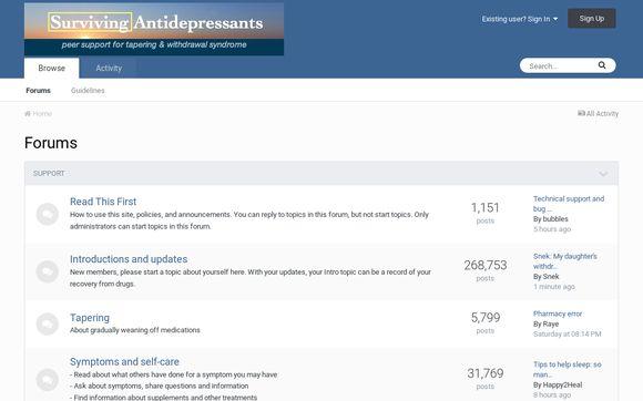 Surviving Antidepressants