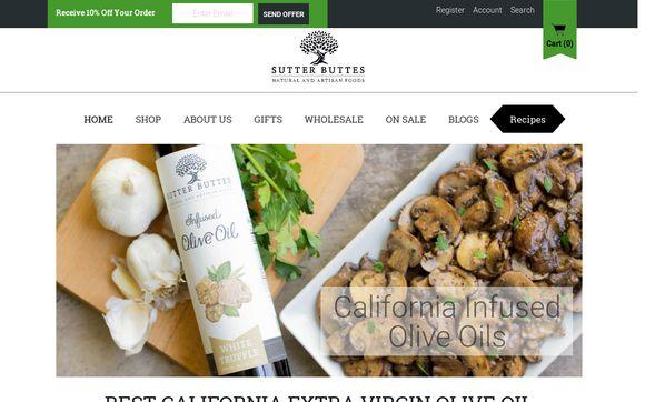 Sutter Buttes Olive Oil