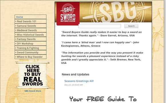 Sword-Buyers-Guide
