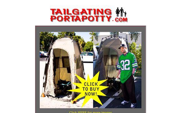 Tailgating Portapotty
