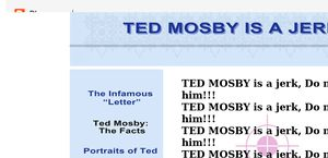Ted Mosby Is a Jerk