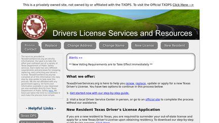 TexasDriverServices.org