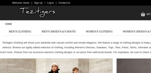 Tezitigers.co.uk
