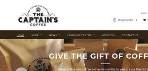 Thecaptainscoffee.com