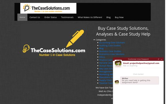 TheCaseSolutions