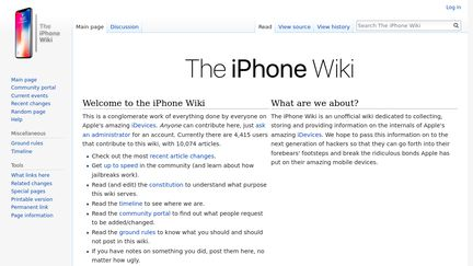 The IPhone Wiki