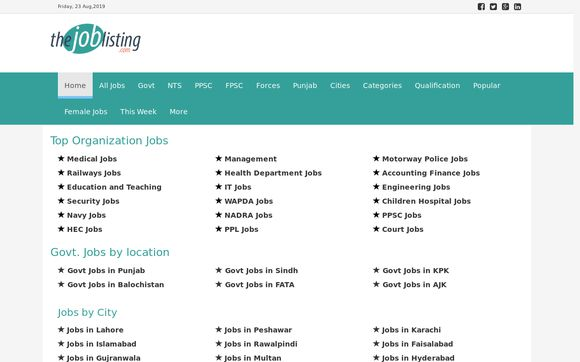 The Job Listing