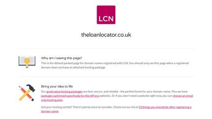 Theloanlocator.co.uk