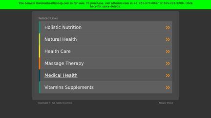 Thetotalhealthshop