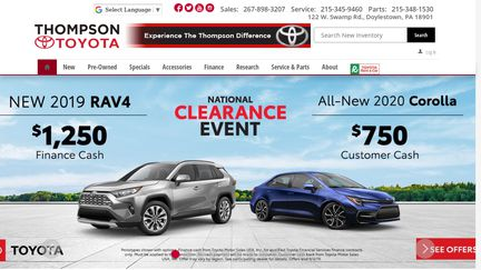 ThompsonToyota.net