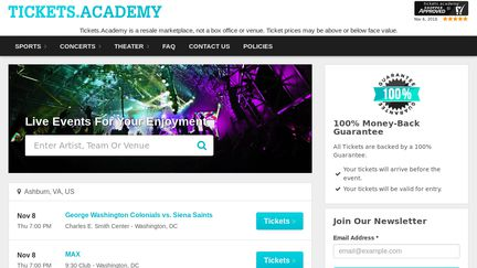 Tickets.academy