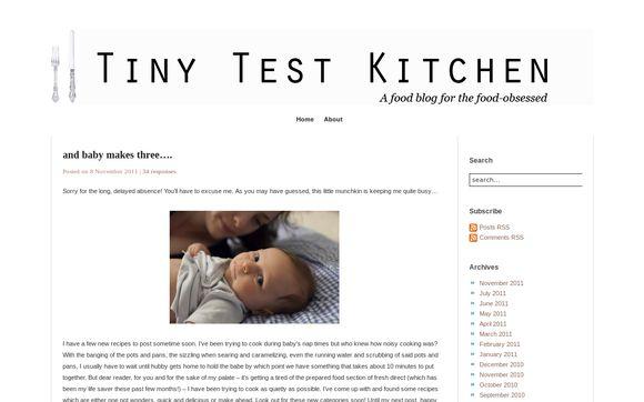 Tiny Test Kitchen