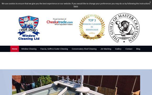 Top Dog Window Cleaning Ltd, Window Cleaners In Birmingham
