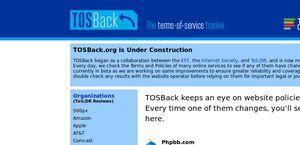 TOSBack