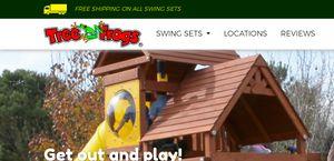 Tree Frogs Swingsets