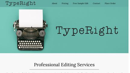 TypeRight Editing