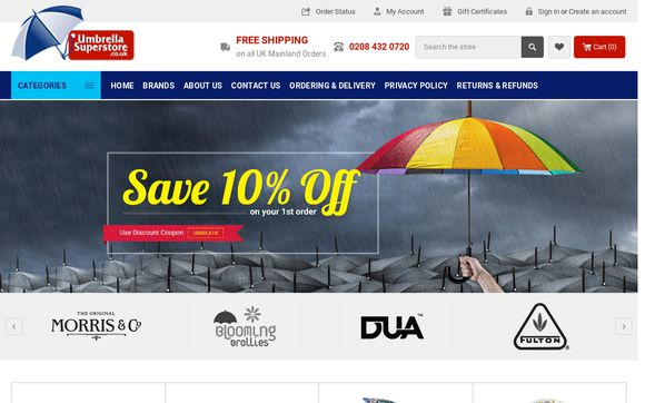 UmbrellaSuperstore.co.uk