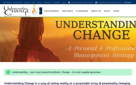UnderstandingChange.org