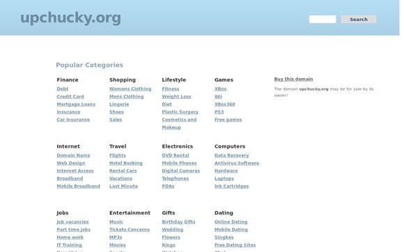 Upchucky.org