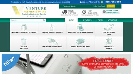 Venture Respiratory Inc