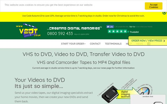 Video2dvdtransfers