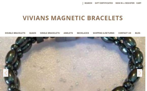 Vivian's Magnetic Bracelets