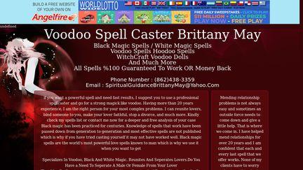 Voodoomagicspellsbybrittany.angelfire.com