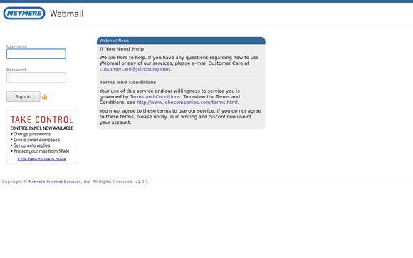 Webmail.nethere.net