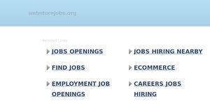 web store jobs org