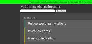 WeddingCardsCatalog