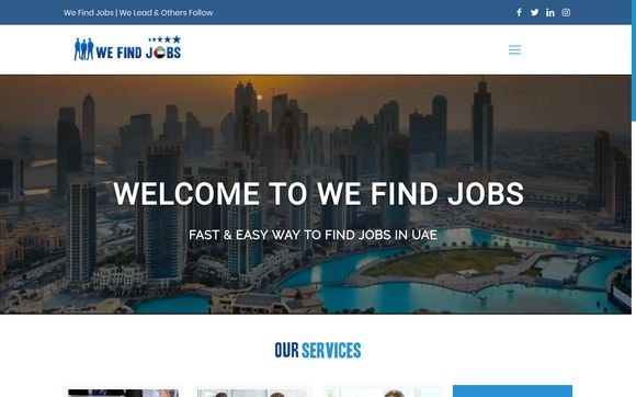 We Find Jobs UAE