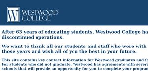 Westwood College, South Bay