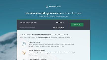 Wholesale wedding dresses.ca