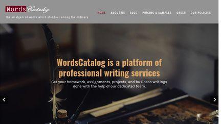 WordsCatalog