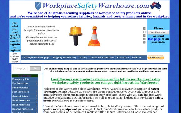WorkplaceSafetyWarehouse
