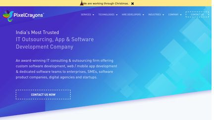 PixelCrayons IT & Software Outsourcing