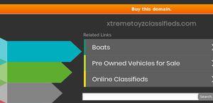 Xtreme Toyz Classifieds